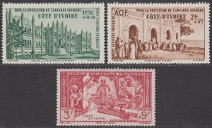 Ivory Coast CB1-CB3 MVLH CV $3.00