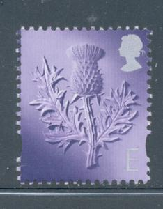 Great Britain Scotland Sc 16 1999 E Thistle stamp mint NH