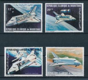 [98416] Mauritania 1981 Space Travel Weltraum  MNH