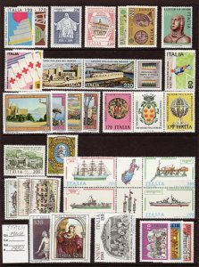 ITALY LOT# DIFF.2 -MNH