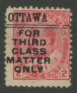 CANADA PRECANCEL OTTAWA 2-90