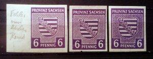 Germany Provinz Sachsen Mi 69Xc **