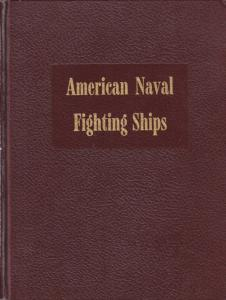 Dictionary of American Naval Fighting Ships, Vols 1-4, hardcover set