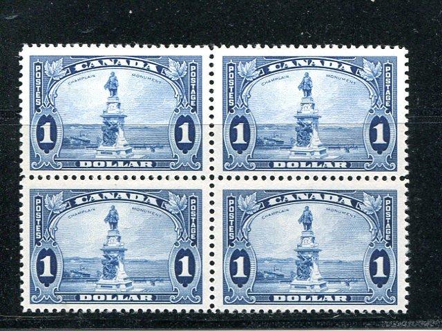 Canada #227 Block 4 Mint  NH VF -    Lakeshore Philatelics