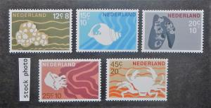 Netherlands B419-23. Marine Life, NH