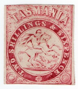 (I.B) Australia - Tasmania Revenue : Stamp Duty 2/6d (no watermark)