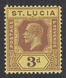 ST. LUCIA, Scott 84, MNH
