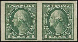 408 Mint,OG,NH... Pair... SCV $4.20