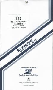 SHOWGARD BLACK MOUNTS 265/137 (5) RETAIL PRICE $12.95