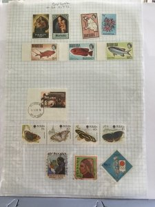 Barbuda and St Kitts stamp page R23467