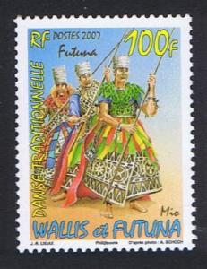 Wallis and Futuna Traditional Dancing 100f 2007 MNH SG#926