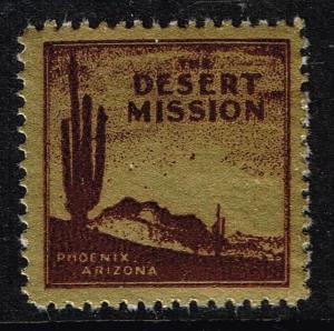 US STAMP Desert Mission TB Charity Seal Collection MNH/OG STAMP LOT #9