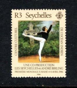 SEYCHELLES 590 MNH VF Ballet