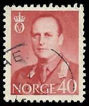 Norway - 362 - Used - SCV-0.25