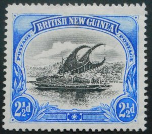 British New Guinea/Papua 1901 Two and a HalfPence SG 12 mint