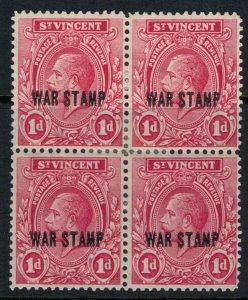 St. Vincent #MR2* Block of 4 CV $5.60