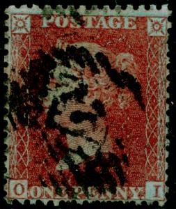 SG SPEC C7(1), 1d red-brown PLATE 25, USED. Cat £1100. CERT. OI