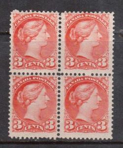 Canada #41 NH Mint Block