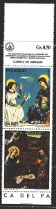 Paraguay. 1975. 2624-31. Christmas religious painting. MNH.