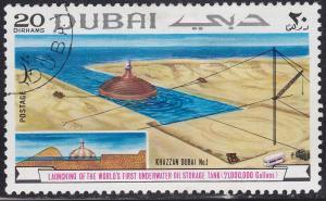 Dubai 114 CTO 1969 Underwater Oil Storage Tank