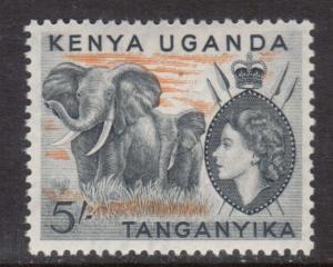 Kenya Uganda Tanganyika #115 VF Mint