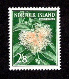 NORFOLK ISLAND  SC# 39  FVF/MLH