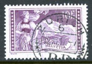 Switzerland 184 used Jungfrau mountain maiden      (Inv 001642.)