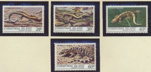 Christmas Island Stamps Scott #112 To 115, Mint Never Hinged