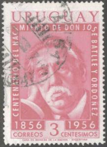 Uruguay Scott 624 Used  stamp
