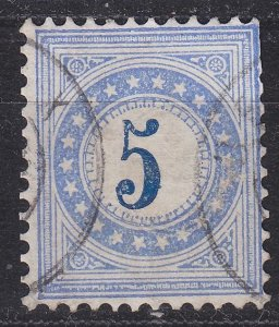 SCHWEIZ SWITZERLAND [Porto] MiNr 0004 II N aa ( O/used ) [01]