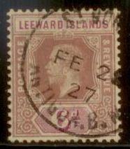 Leeward Islands 1912 SC# 53 Used L156