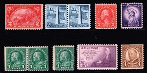US STAMP 20TH US MINT STAMPS COLLECTION LOT