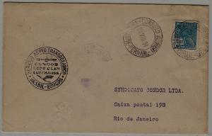 Brazil Zeppelin cover 21.7.34 Pernambuco
