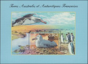 French Southern & Antarctic Territory #374, Complete Set, 2006, Birds, Never ...