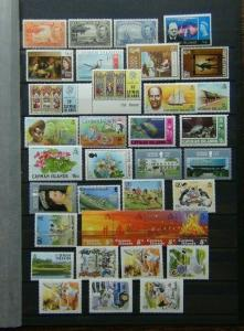Cayman Islands Mainly MNH few MM range of Commemorative issues with high values