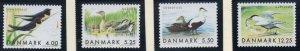 Denmark  Scott  1163-6 1999 Migratory Birds stamp set mint NH
