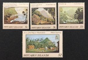 Pitcairn Islands 1985 #249-52, Paintings, MNH.