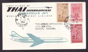 #15011 -cover-Thai International Caravelle Jet first flight