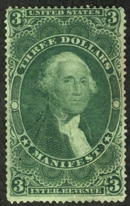US #R86c SCV $55.00  VF and Fresh, looks mint, terrific color, SELECT!  SCV $...