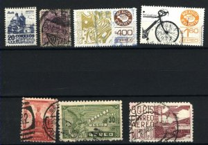 Mexico 639,712,860,1650.C69,C193,C491,C495   Mint & u PD