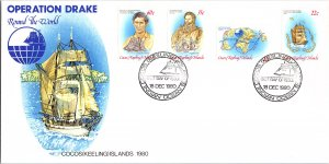 Cocos Islands, Worldwide First Day Cover, Ships