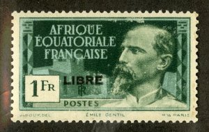 FRENCH EQUATORIAL AFRICA 107 MH SCV $8.00 BIN $3.50 PERSON