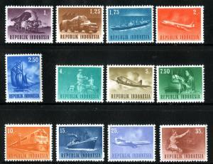 INDONESIA 626-37 MH SCV $3.10 BIN $1.50