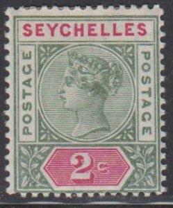 SEYCHELLES - Sc 1 / Mint HR - Victoria