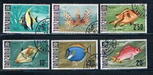 Tanzania Fish Short set 28-29 31-34 (ML0086)