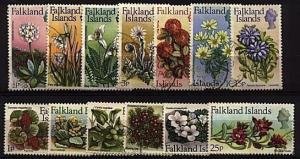FALKLAND IS 1972 Definitive set fine used..................................98898