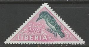 LIBERIA 344 MNH BIRD H292-7
