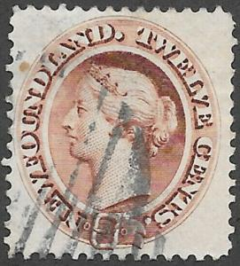 Newfoundland Scott Number 28 VF Used