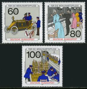 Germany B694-B696, MNH. Post and Telecommunications, 1990