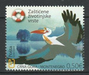 Montenegro 2007 Birds MNH stamp
